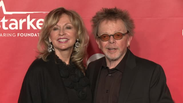 Mariana Williams Paul Williams at 2015 MusiCares Person Of The Year Gala Honoring Bob Dylan at Los Angeles Convention Center on February 06 2015 in...