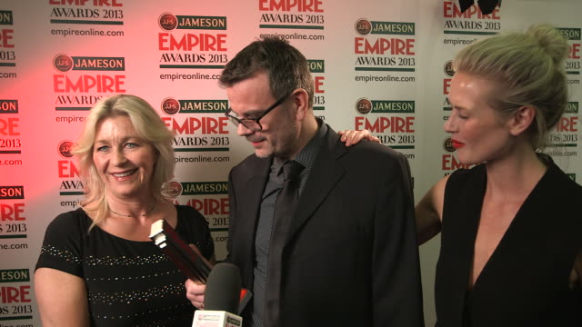 INTERVIEW Marianne Gray Asle Vatn Synnove Macody Lund on winning the award at The Jameson Empire Awards Winners Press Conference at The Grosvenor...
