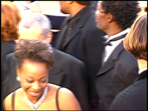 marianne jean baptiste at the 1997 academy awards arrivals at the shrine auditorium in los angeles california on march 24 1997 - 69th annual academy awards stock videos & royalty-free footage