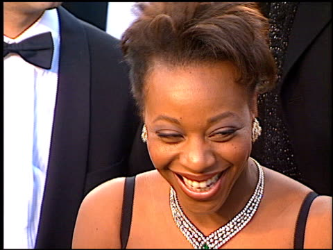 Marianne Jean Baptiste at the 1997 Academy Awards Arrivals at the Shrine Auditorium in Los Angeles California on March 24 1997