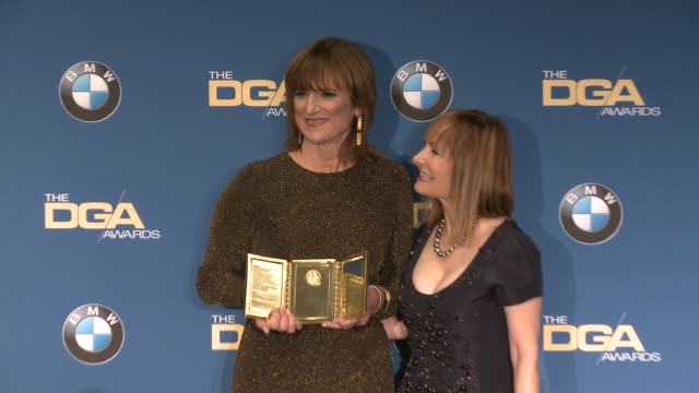 marie cantin, gale anne hurd at 69th annual directors guild of america awards in los angeles, ca 2/4/17 - director's guild of america stock videos & royalty-free footage