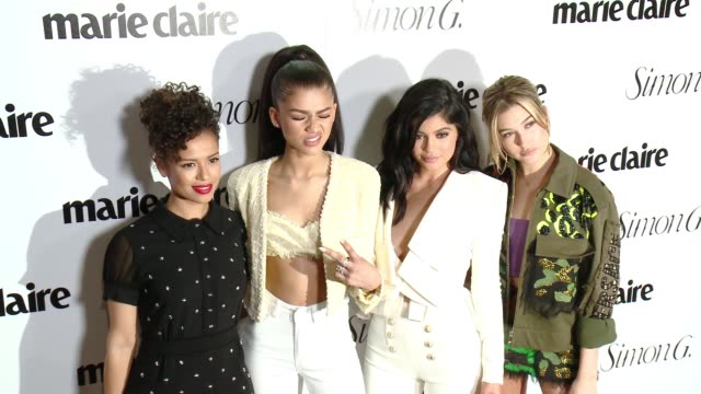 CHYRON Marie Claire Hosts 'Fresh Faces' Party Celebrating May Issue Cover Stars in Los Angeles CA