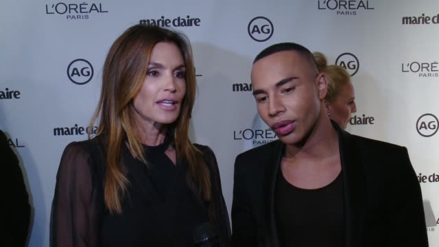 stockvideo's en b-roll-footage met clean marie claire's image maker awards in los angeles ca - reportage afbeelding