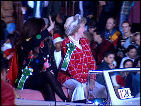 marie osmond at the hollywood christmas parade on december 3 1995 - sfilata di natale di hollywood video stock e b–roll