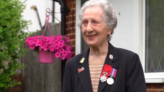 marie scott vividly recalls the horrifying sound of dday as she relayed orders down the line to the troops storming the normandy beaches - d day stock videos and b-roll footage