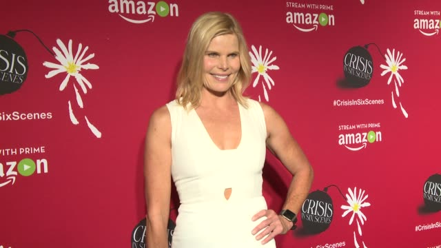 mariel hemingway and woody allen at crisis in six scenes world premiere screening held in new york city at crosby street theater on september 16,... - woody allen stock videos & royalty-free footage
