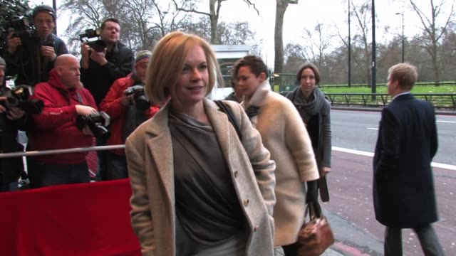 mariella frostrup arrives for the south bank sky arts awards sky arts awards - mariella frostrup at dorchester hotel on january 25, 2011 in london,... - dorchester hotel stock videos & royalty-free footage
