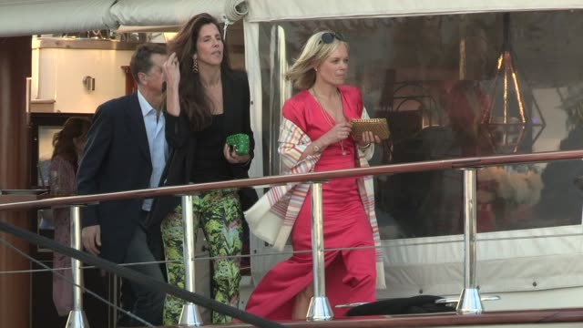 mariella frostrup at celebrity sightings on may 17, 2013 in cannes, france - mariella frostrup stock videos & royalty-free footage