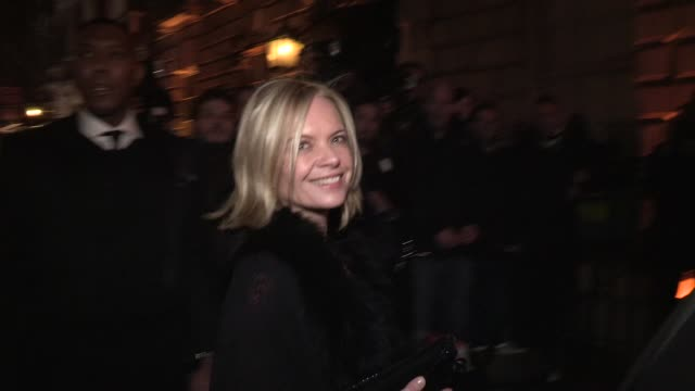 mariella frostrup - celebrity video sightings on february 09, 2013 in london, england - mariella frostrup stock videos & royalty-free footage