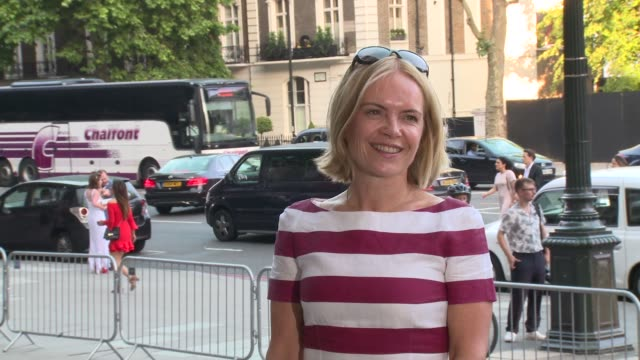 mariella frostrup, penny smith at victoria and albert museum on june 21, 2017 in london, england. - mariella frostrup stock videos & royalty-free footage