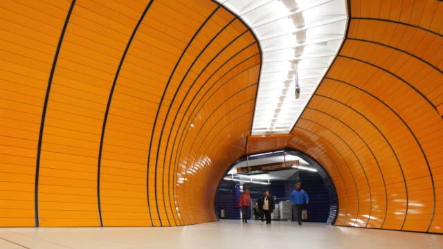Marienplatz metro at Munich