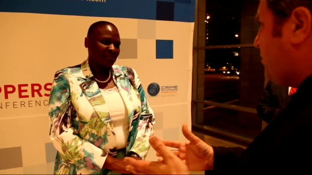 marikana inquiry; *uk rights only, no international use* cape town: ext/night ria phiyega beside car with others int national police commissioner ria... - newly industrialized country stock videos & royalty-free footage