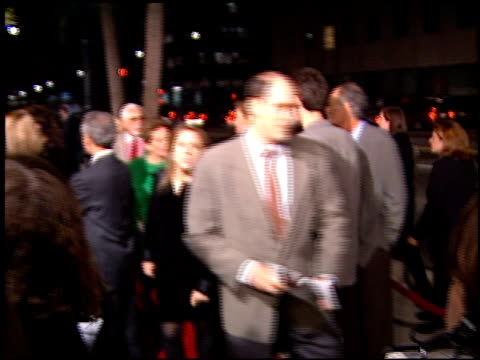 marilyn beck at the premiere of 'the crucible' at samuel goldwyn theater in beverly hills california on november 20 1996 - samuel goldwyn theater stock videos & royalty-free footage