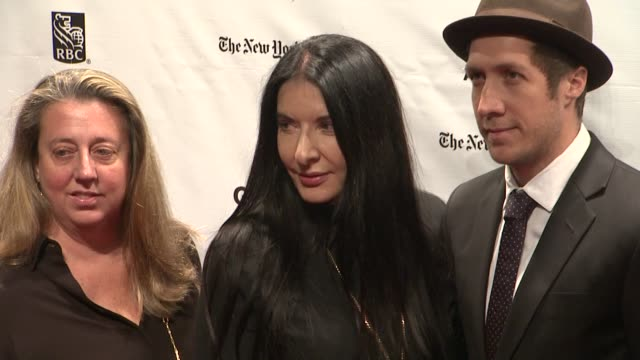 marina abramovic at the 22nd annual gotham independent film awards at cipriani wall street on november 26 2012 in new york new york - マリーナ アブラモヴィッチ点の映像素材/bロール