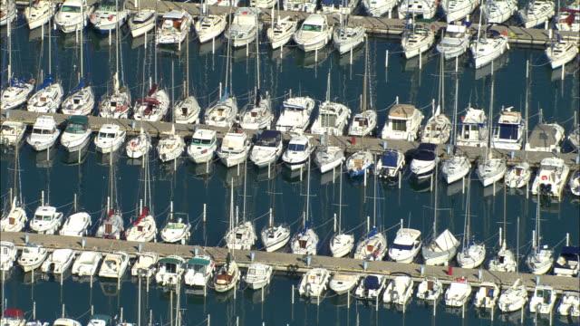 ZO, AERIAL, Marina at Holiday resort, La Grande Motte, Languedoc-Roussillon, France