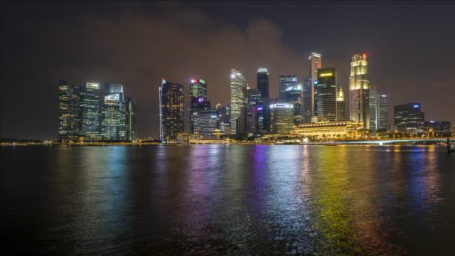T/L Marina Bay at night, Singapore