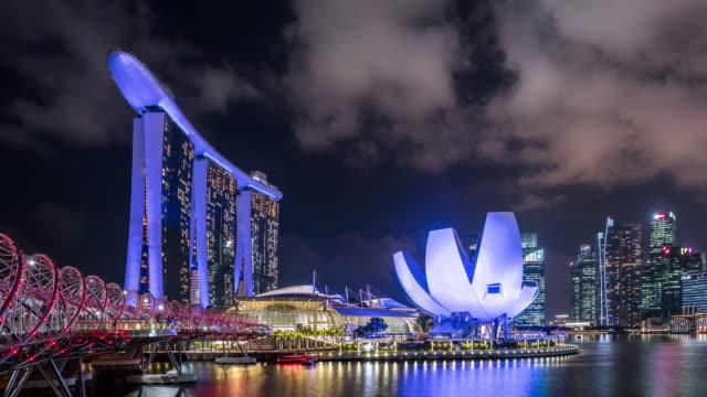 T/L WS ZO Marina Bay Sands at Night / Singapore