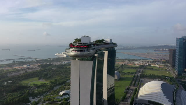 marina bay sands hotel / downtown core, singapore - singapore stock videos & royalty-free footage