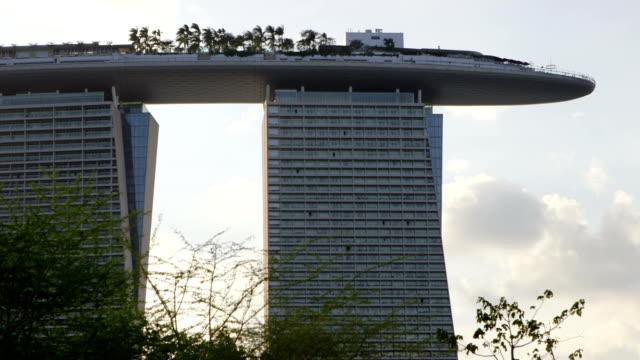 Marina Bay Sands Hotel telephoto shot