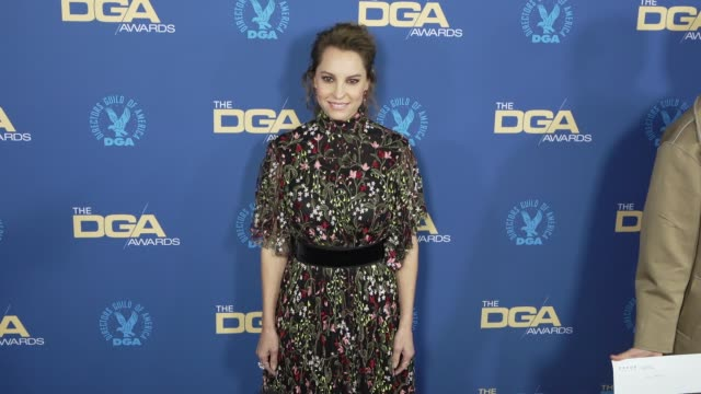 marina de tavira at the 71st annual dga awards at the ray dolby ballroom at hollywood highland center on february 02 2019 in hollywood california - directors guild of america awards stock videos & royalty-free footage
