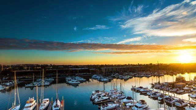 Marina Del Rey, California Timelapse