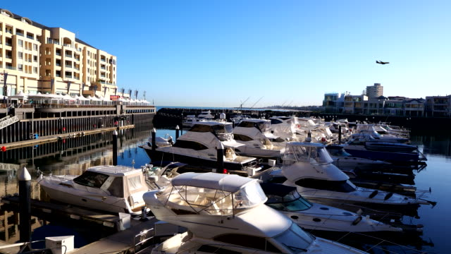 marina - glenelg, south australia - digital enhancement stock videos & royalty-free footage
