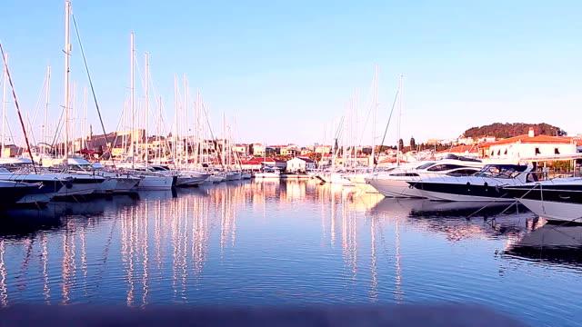 マリーナ - nautical vessel点の映像素材/bロール