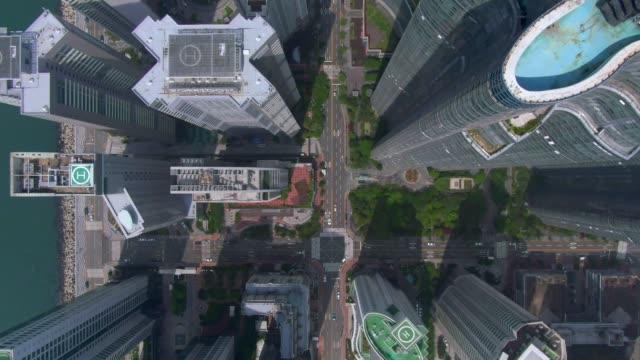 'marine city' (residential skyscrapers complex) / haeundae-gu, busan, south korea - personal land vehicle stock videos & royalty-free footage
