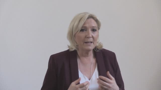 Marine Le Pen is in Denmark ahead of EU polls calling for the creation of a very large group of sovereignist parties in the European Parliament to...