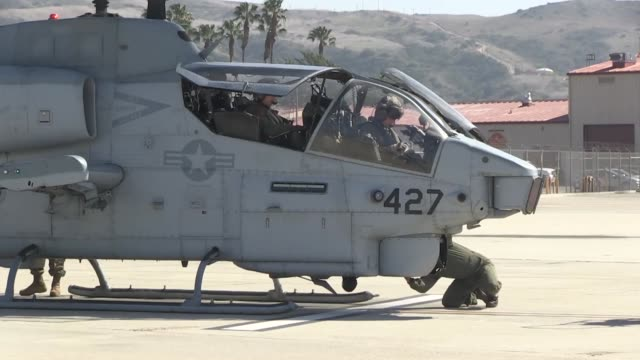 Marine Light Attack Helicopter Training Squadron 303 Marine Aircraft Group 39 3rd Marine Aircraft Wing said farewell to their last AH1W Super Cobra...