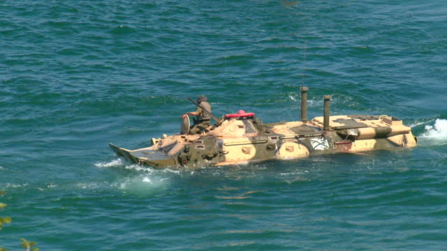 marine tank - sevastopol crimea stock videos and b-roll footage