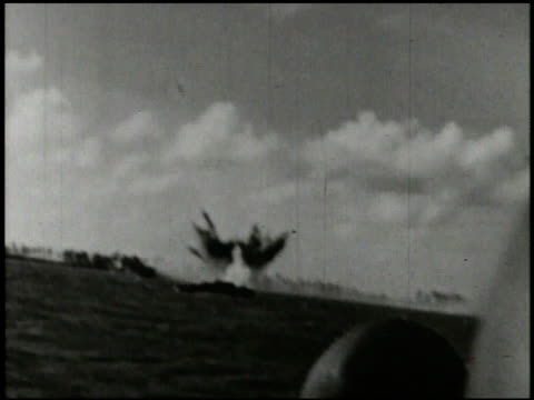 s marines amp 27th infantry regiment soldiers in amphibious landing crafts landing on beach of saipan tanks rolling onto beach soldiers jumping off... - saipan stock videos and b-roll footage