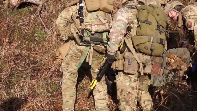 US Marines and United Kingdom Royal Marines executed a tactical recovery of aircraft and personnel in Rindal Norway during Exercise Trident Juncture...