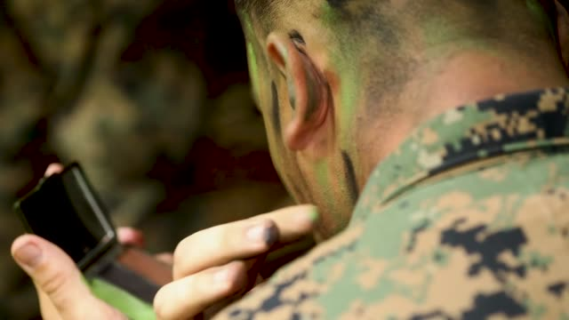 vídeos de stock, filmes e b-roll de us marines conduct jungle patrols aboard us army kahuku training area hawaii as part of exercise bougainville i march 21 2019 - arbusto tropical
