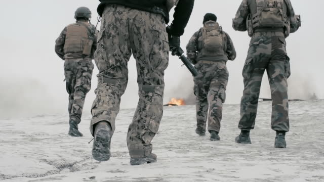 Marines Joining Combat Units