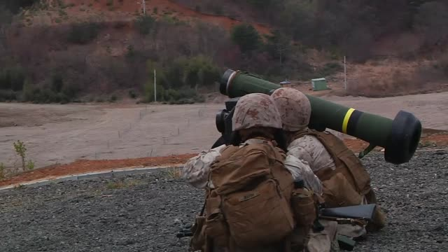 Marines Perform Mechanized Assault
