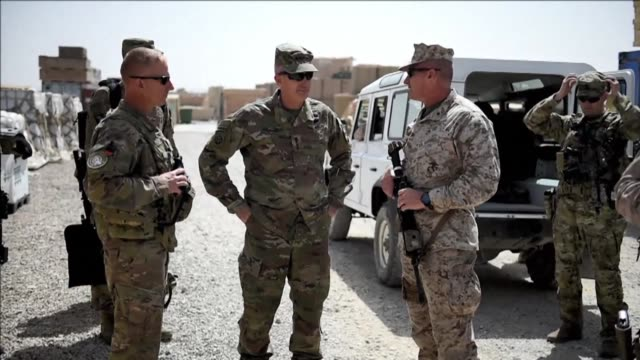 US Marines returned to Afghanistan's volatile Helmand Saturday where American troops faced heated fighting until NATO's combat mission ended in 2014...