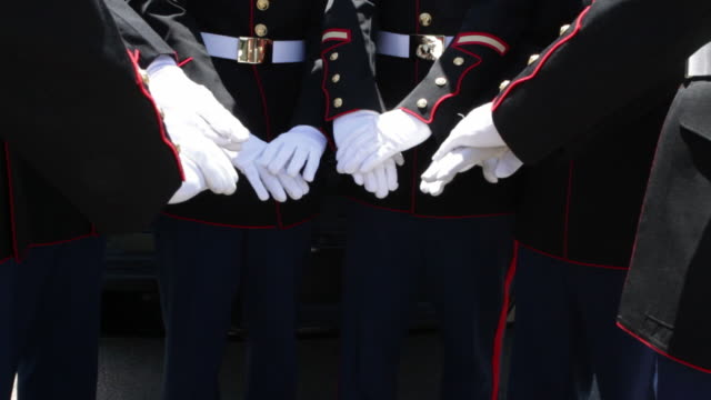 marines teamwork - military uniform stock videos & royalty-free footage