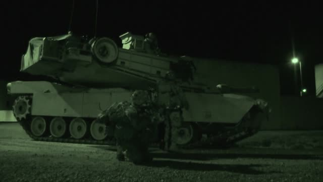 us marines with 1st battalion 2nd marine regiment 2nd marine division conduct a battalion marine corps combat readiness evaluation on camp lejeune nc... - regiment stock videos and b-roll footage