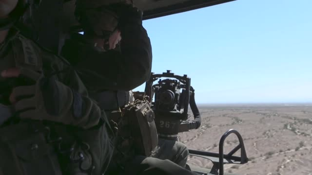 us marines with marine aviation weapons and tactics squadron one conduct an offensive air support drill in support of weapons and tactics instructor... - drill instructor stock videos & royalty-free footage