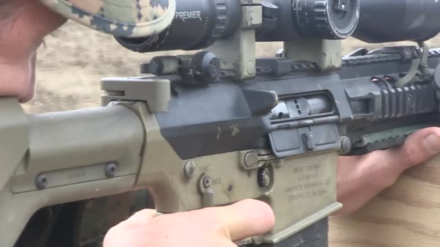 us marines with weapons co 1st battalion 3rd marine regiment and members of the japanese ground selfdefense force performed unknown distance sniper... - us marine corps stock videos & royalty-free footage