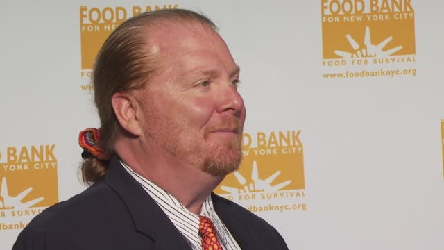 Mario Batali at the Food Bank for New York City's 8th Annual CanDo Awards Dinner at New York NY