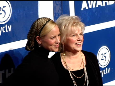 mario bello and mother at the ifp's 15th annual gotham awards arrivals at pier 60 at chelsea piers in new york, new york on november 30, 2005. - independent feature project video stock e b–roll