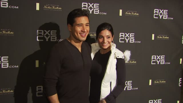 Mario Lopez and Courtney Mazza at the Axe CYB Party Sundance Film Festival 2010 at Park City UT