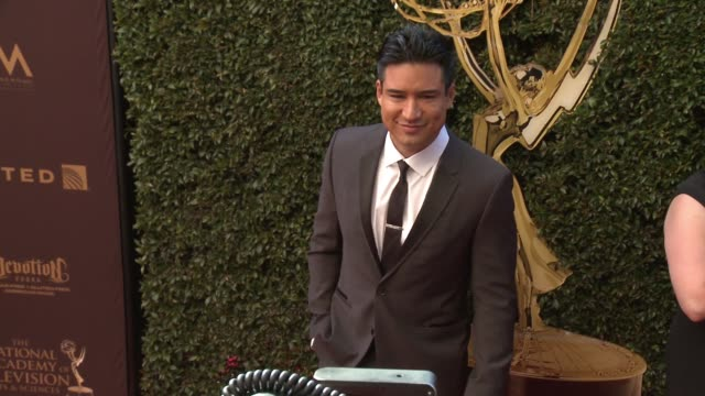 Mario Lopez at 43rd Annual Daytime Emmy Awards at Westin Bonaventure Hotel on May 01 2016 in Los Angeles California