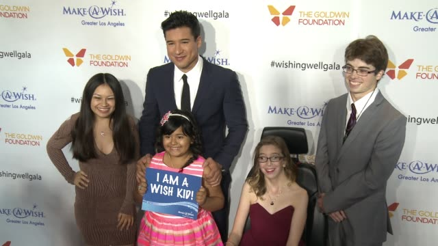 mario lopez at 4th annual wishing well winter gala presented by makeawish greater los angeles in los angeles ca - wishing well stock videos & royalty-free footage