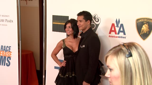 mario lopez at the 16th annual race to erase themed 'rock to erase at los angeles ca. - レーストゥイレースms点の映像素材/bロール