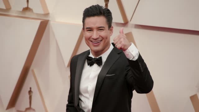 mario lopez at the 92nd annual academy awards at dolby theatre on february 09, 2020 in hollywood, california. - academy of motion picture arts and sciences stock videos & royalty-free footage