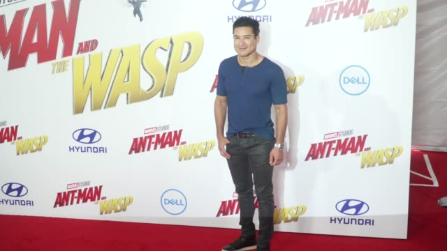 Mario Lopez at the AntMan and the Wasp World Premiere at the El Capitan Theatre on June 25 2018 in Hollywood California