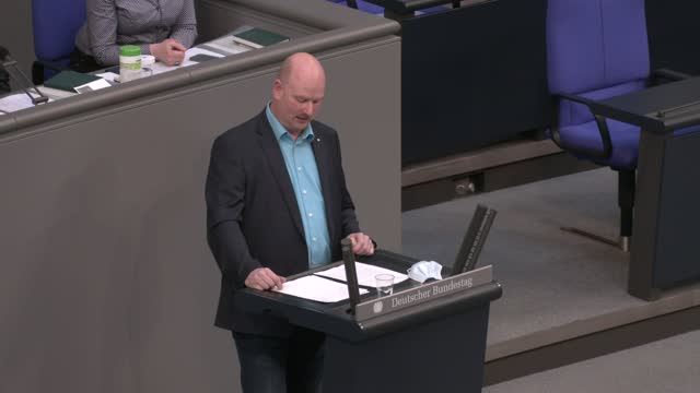mario mieruch, non-atteched member of the bundestag, speaks during final debates and a vote on a series of new measures to rein in the coronavirus... - bridle stock videos & royalty-free footage